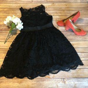 Black lace BB Dakota dress